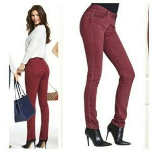 CAbi Burgundy Skinny Pants - 4
